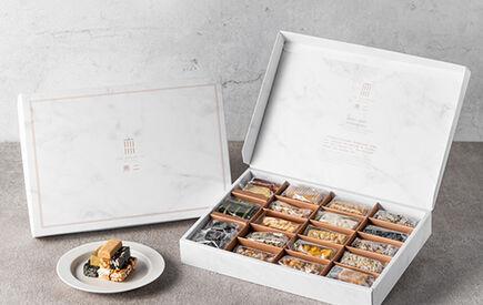 【歡慶無二15周年】20種口味一盒滿足!10/2-10/31滿四件商品再送芝麻糕!